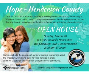 """Hope for Henderson County"" Open House"
