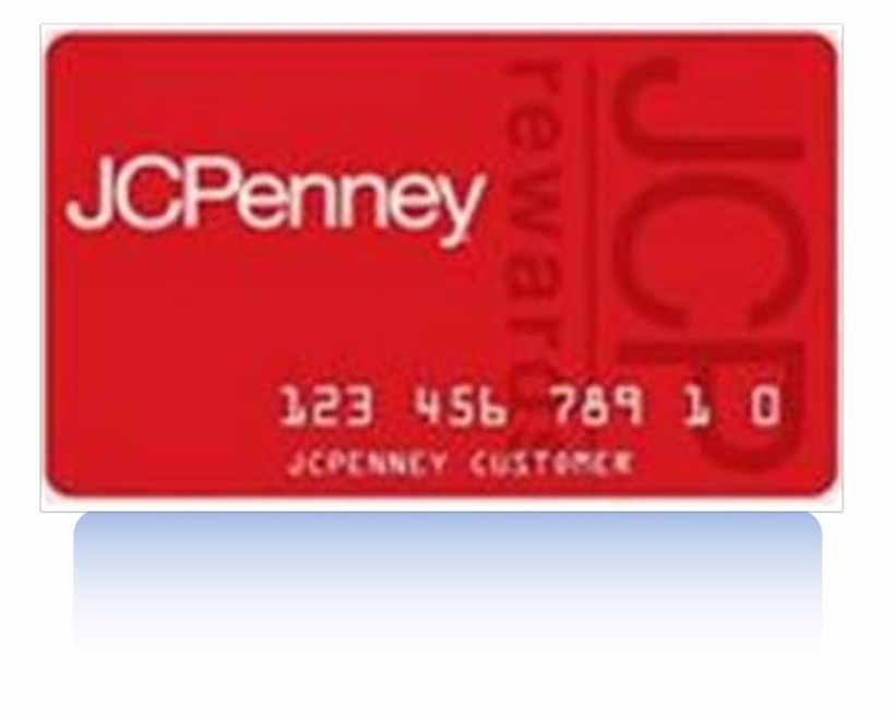 Jcpenney Credit Card. Admin