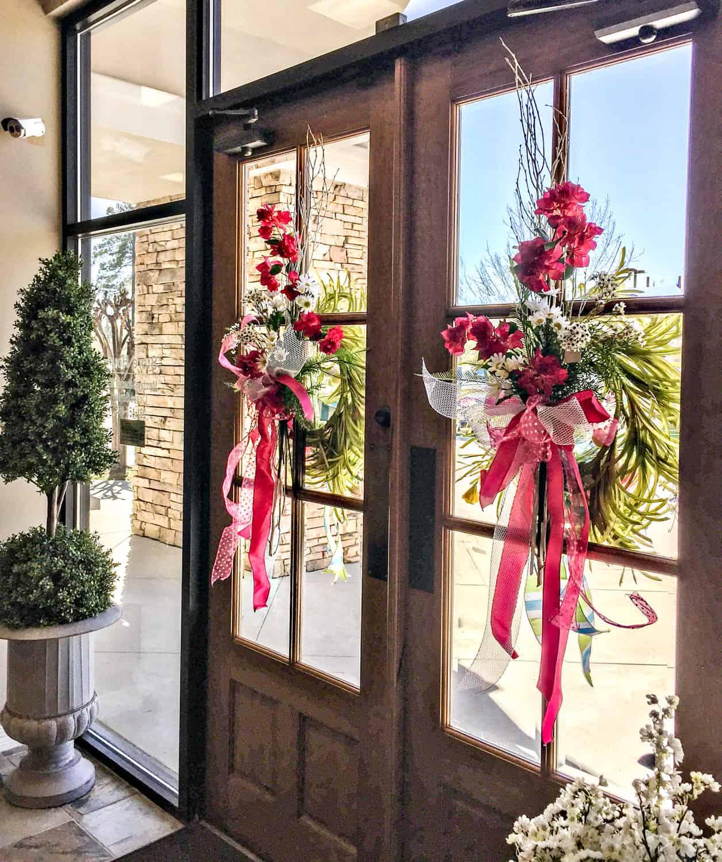 Picket Fences Inside Door Wreaths