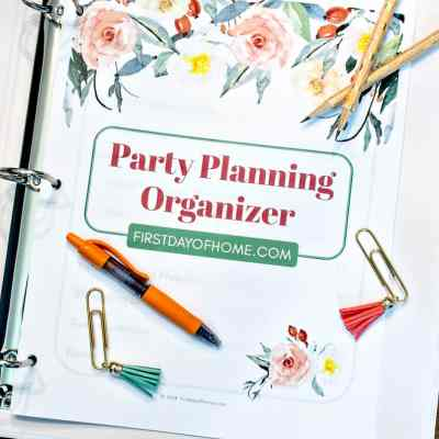 Free Party Planning Printables to Organize Your Event