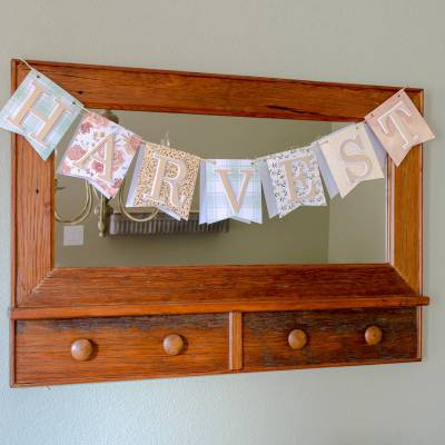 Free Harvest Pennant Banner {Cameo Cut File}