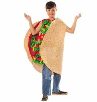 Taco Food Costume for Kids