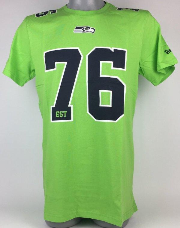 Seattle Seahawks Era Number Classic T-shirt