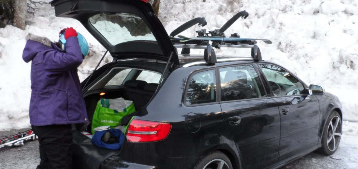 ski gear review thule roof rack and