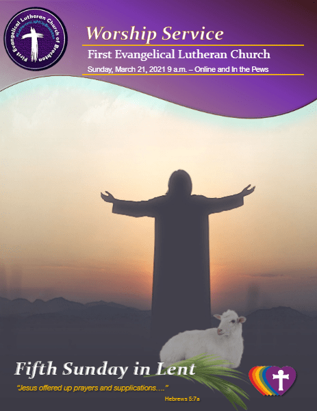 003/21/2021 - Fifth Sunday of Lent