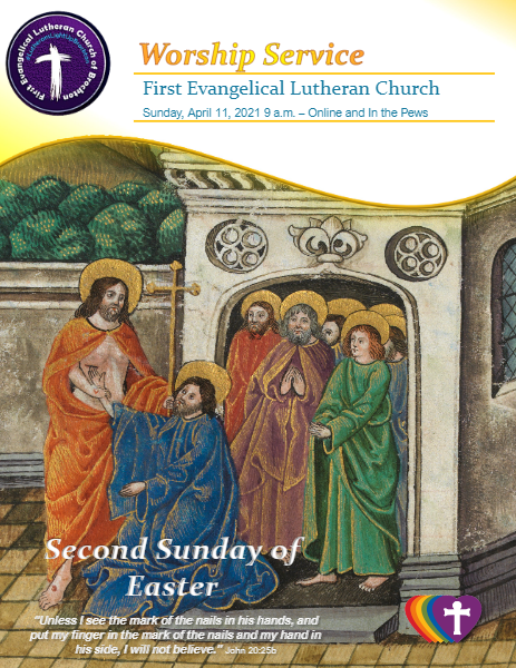 04/11/2021 - Second Sunday of Easter