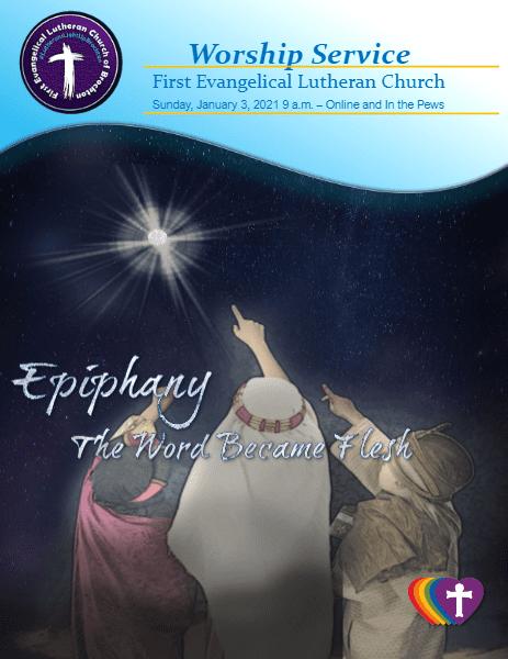 01/03/2021 9 a.m. - Sunday Worship: Second Sunday of Christmas
