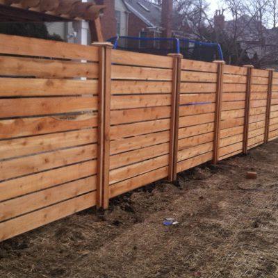 wood fence installation repair