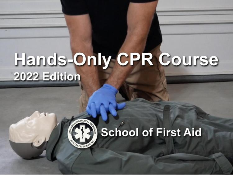 free online first aid course from the School of FIrst Aid