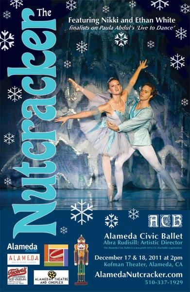 Alameda Civic Ballet Nutcracker poster