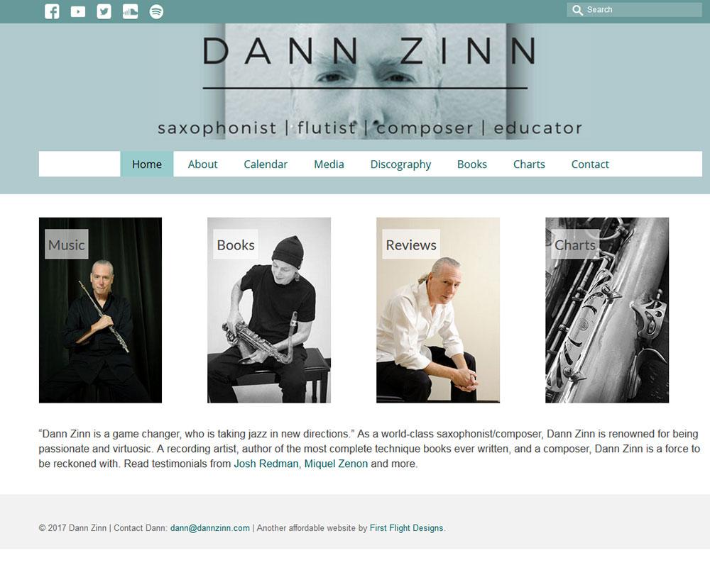 Dann Zinn website