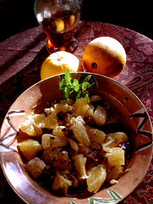 Orange and Honey Salad