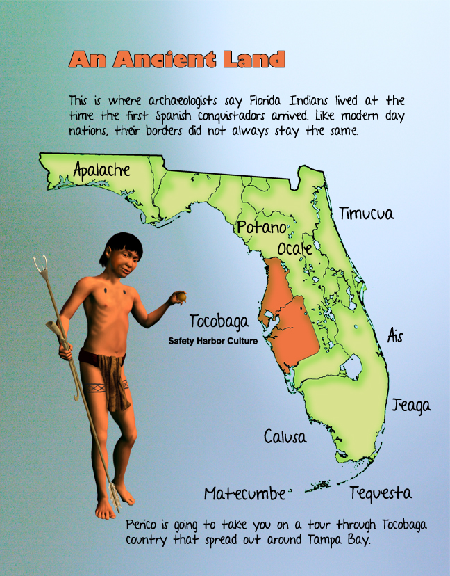 Florida Indian Map-Perico
