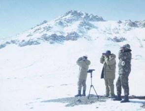 Pamir Argali Survey_2002 surveying