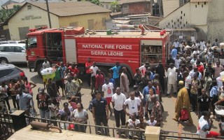 Fire leaves UMC Sierra Leone conference without office