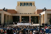 George W. Bush Presidential Center dedicated at SMU