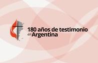 Evangelical Methodist Church in Argentina Celebrates 180 years