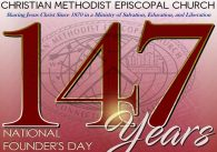 CME Church Celebrates 147th Founder's Day