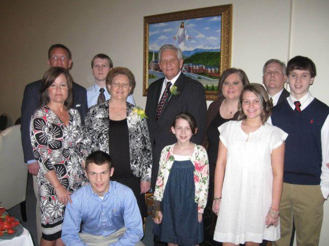 Buckner Family Portrait