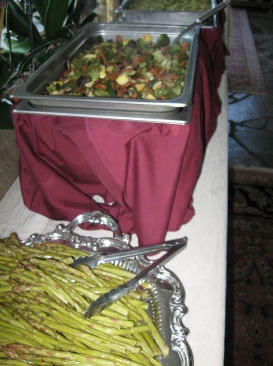 Marinated Asparagus, Vegetable Stir-Fry