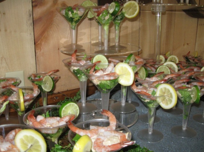 Shrimp Martini's