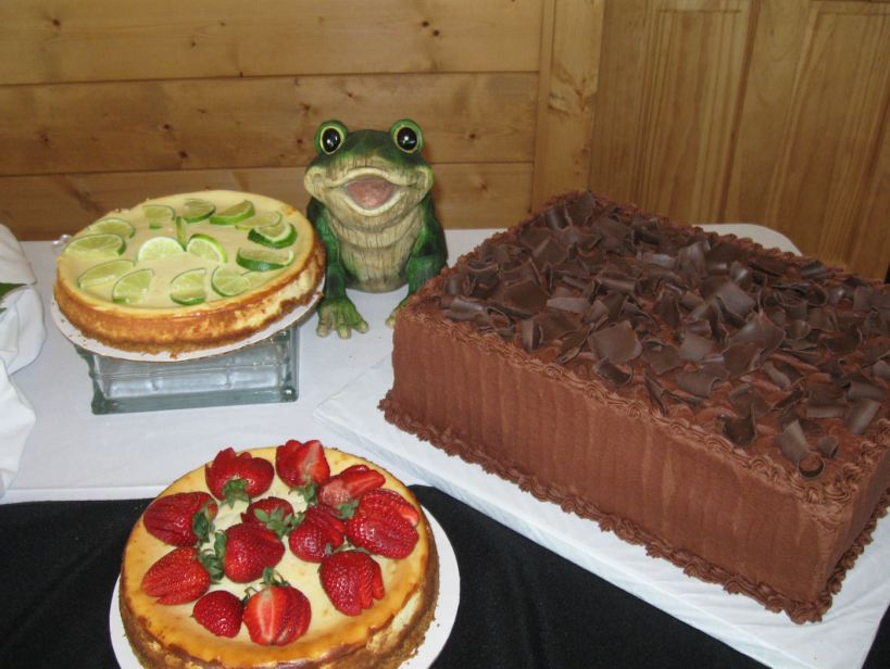 Grooms Chocolate Cake