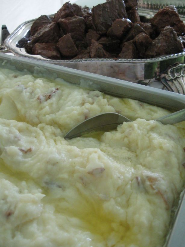 Rosemary Beef Roast and Whipped potatoes