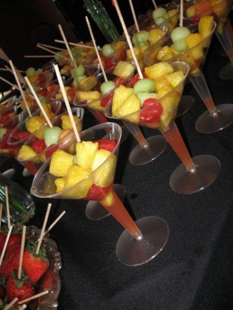 Fresh Fruit Martini's