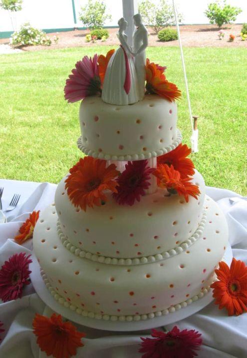 Vanilla Bean Wedding Cake