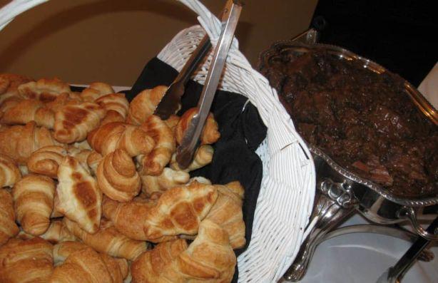 Rosemary Roast with Croissants