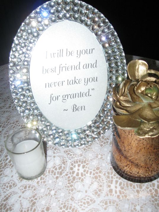 Bride and Groom Notes