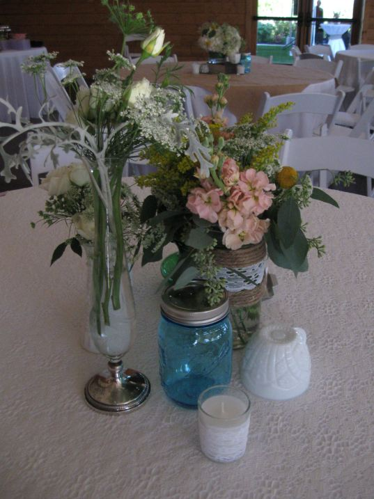 Centerpiece by Lisa Foster