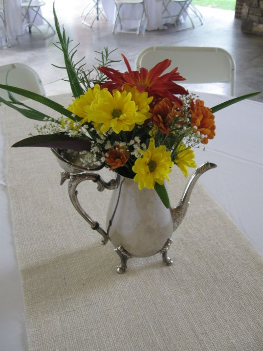Tea pot Flower Arrangement