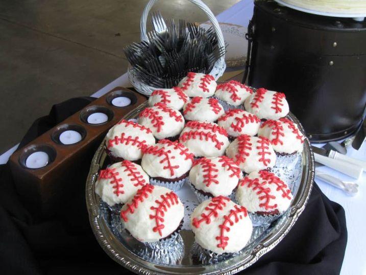 Red Velvet Baseballs