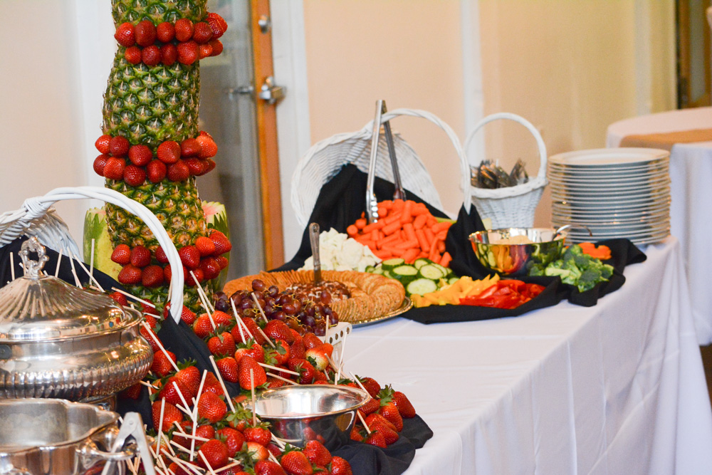 Fresh Fruit Fondue Knoxville, TN Venue Catering