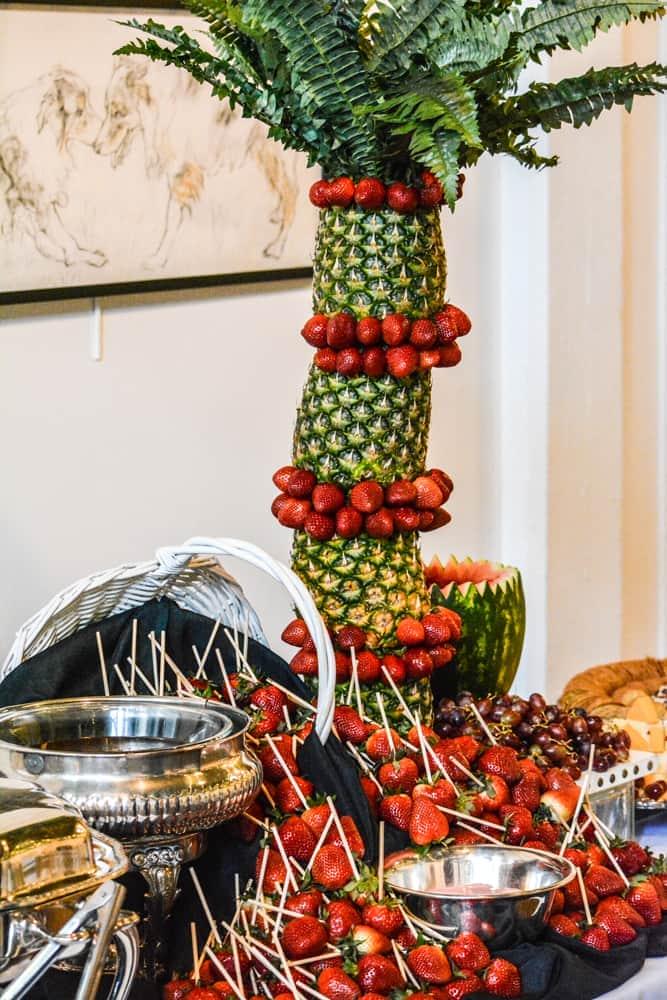 Fresh Fruit Fondue Knoxville, TN Catering Emporium Venue