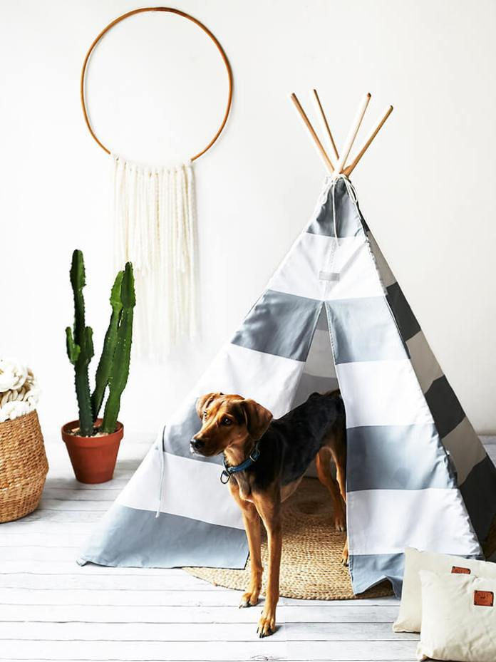 Luxury tepee dog bed house ideas