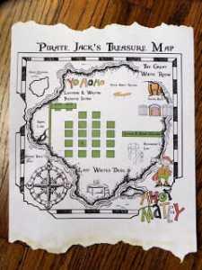 Pirate Map Idea