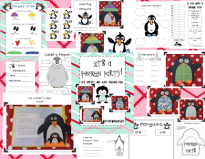 Let's Make a Penguin…Or Three! Glyph, Art, Lit, and Math Pack (and Freebie!)