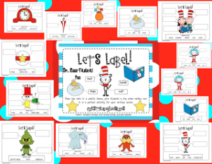 Dr SSS-Tastical Labeling Mats and a Freebie