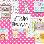 Spring into a Giveaway!! And a Freebie!