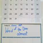 Calendar, Anyone?
