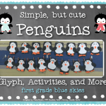Simple, but Cute Penguins & a Freebie! Plus Flash Giveaway!