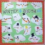 Melted Snowman Bulletin Board & Freebie Pack