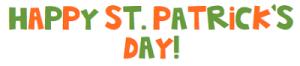 St Patrick's Day Linky