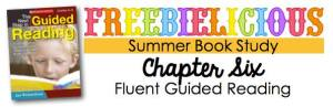 Guided Reading Book Study Chapter 6 Freebies!