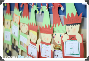 Elves in the Hallway! {freebie, too}