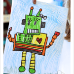 Robot Directed Drawing FREEBIE
