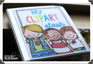 How I Organize My Clipart!