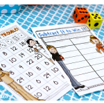 Thanksgiving {Fall} No Prep Just Add Dice Games